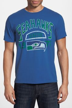JUNKFOOD Seattle Seahawks Tee Nfl Seattle 22625aef3