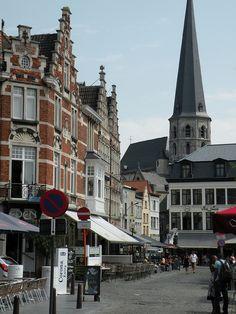 Vrijdagsmarkt, Gent, Belgium