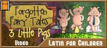 Latin video's using vocabulary, site also has games and other resources