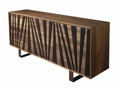 Download the catalogue and request prices of A-144 | sideboard By dale italia, wooden sideboard with doors