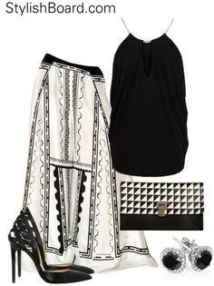 """StylishBoard.com"" by stylishboard on Polyvore http://muchmusictv.com/?videos=chris-brown-i-can-transform-ya-feat-swizz-beatz-lil-wayne"