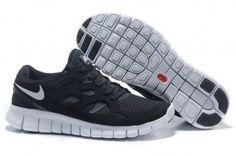 the best attitude bcd5b 8b2ff Nike Free Run 2 Womens Black Gray Running Shoes Nike Free Skor, Air Jordan,