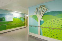 Artistas colaboran en un proyecto para hacer mas agradables los hospitales para los niños