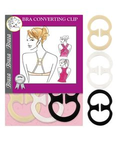 Bra Converter Clips - Set of Six