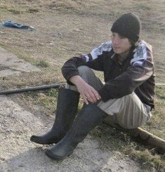 Gay Boys in Rubberboots Wellies Boots, Wellington Boot, Equestrian Style, Rain Wear, Free Time, High Boots, Leather Boots, Gay, Young Boys