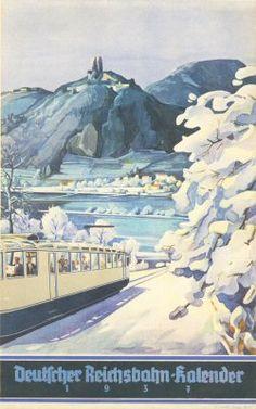 Reichsbahn-Kalender 1937