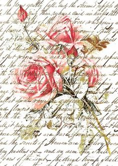 Free download-Graphic- Notepaper-w rose