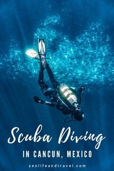 Scuba Diving in Cancun [Underwater Museum] – Zen Life and Travel Scuba Diving Cancun, Scuba Diving Gear, Cave Diving, Snorkeling, Mexico Vacation, Mexico Travel, Cancun Mexico, Mexico City, South America Travel
