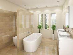 Travertine Bathroom Designs classic travertine bathroom worktops | bathroom | pinterest