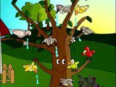 """El cuento para niños titulado """"El Viejo árbol"""" cuenta la bonita historia de un árbol y sus amigos los pájaros que en él se posan a diario. El cuento, perteneciente a la colección de cuentos cortos para educar en valores de la Asociación Mundial de Educadores Infantiles (AMEI-WAECE), es un cuento para reflexionar sobre la ayuda mutua, de las ventajas de la colaboración y el trabajo conjunto y también de la conservación de la naturaleza, en especial del valor del agua como fuente vida."""