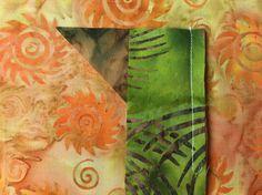 Batik Braid first seam