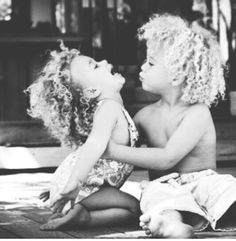 Curly kids :)