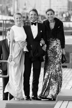 Princess Mabel of Orange-Nassau, Prince Maurits of the Netherlands and Marie-Helene Angela van den Broek Dutch Princess, Princess Style, Prince And Princess, Style Royal, Estilo Real, Royal Brides, Banquet, Gala Dinner, Crown Princess Victoria
