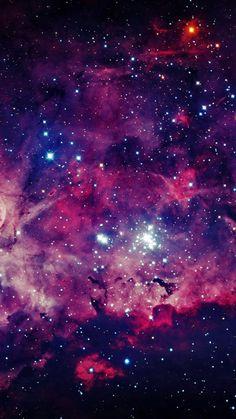 Fond d'écran galaxie <3