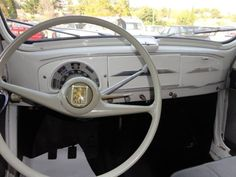 Citroen Ds, Peugeot 203, Peugeot France, French Vintage, Vintage Italy, Classic Trader, Cars And Motorcycles, Retro, Car Interiors
