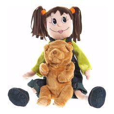 Girl & Bear Plush Set $8