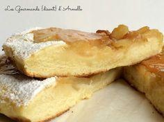 Crapiaux aux pommes et caramel au beurre salé (gâteau à la poele) Gateaux Cake, Armelle, Cheesecakes, Crepes, Apple Pie, Camembert Cheese, French Toast, Dairy, Cooking