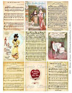Valentine's Digital Sheet - Music of Love