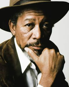 Morgan Freeman.  This guy has to be one of the best actors alive.  I'd like to meet him.