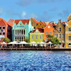 The capital city of Curacao, Willemstad, is world-famous for it many colorful buildings set along the beautiful waterfront. Originally painted to minimize glare from the harsh tropical sun, today the colors are more for show than health benefits. Be sure to explore the Punda district of town, on...
