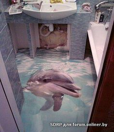 Wouldn't this be cool in your bathroom??