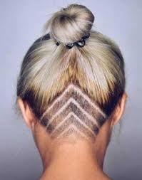 """Résultat de recherche d'images pour """"coiffure femme nuque rasée"""""""