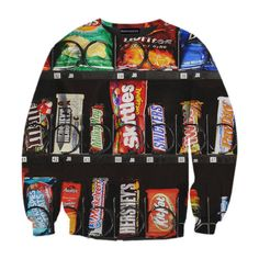 Flaunt Your Love Of Donuts, Nutella And Goldfish With These Ridiculous Sweatshirts