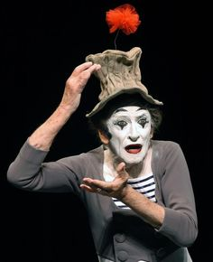 """Do not the most moving moments of our lives find us all without words?""    - Marcel Marceau"