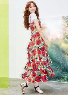 Weightlifting Fairy Kim Bok Joo Fanart, Lee Sung Kyung Fashion, Uniqlo Women Outfit, Sung Hyun, Korean Fashion Summer, Korean Actresses, Asian Actors, Joo Hyuk, Fashion Idol