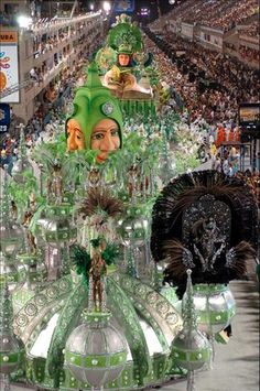 Brazil's Carnival.. I will go to this one day!