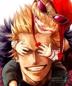 One Piece/Donquixote Doflamingo,Rosinante