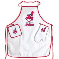 Cleveland Indians BBQ Set...great idea for fathers day