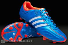 adidas Football Boots - adidas adipure 11Pro TRX FG - Firm Ground - Soccer Cleats - Bright Blue-Running White-Infrared