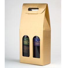 One Eyed Cat Ltd - Gold  Silk Twin Window Wine Box, £4.49 (http://www.oneeyedcat.com/gold-silk-twin-window-wine-box/)