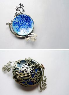 Heng Lee   This brooch looks so nice...!