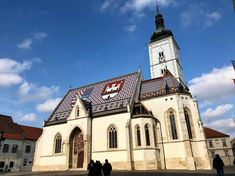‪The St Mark's Church is one of Zagreb's most emblematic buildings. Its colourful tiled roof was constructed in Top Destinations, Natural Wonders, All Over The World, Notre Dame, Buildings, Construction, Vacation, Eat, Travel