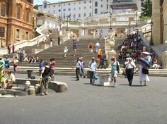 The Spanish Steps, Rome Italy