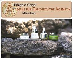 Munich Cosmetic School introduced skin care products of aroma garden Die Akademie für ganzheitliche Kosmetik verwendet die Divine Serie in der Ausbildung. Danke Hildegard!