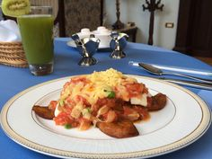 I haven't tried many Huevos Motuleños, but I can tell you that for the ones at Casa Azul Hotel Monumento Histórico in Mérida Yucatán I'll go back anytime just to taste them again!