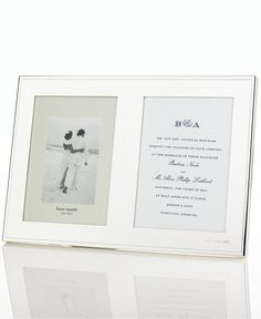 kate spade new york Darling Point Double Invitation Frame - Picture Frames - For The Home - Macy's