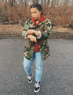 How To Find Affordable Fashion Clothes Outfits Con Vans, Chill Outfits, Casual Outfits, Cute Outfits, Army Outfits, Tomboy Outfits, Teen Fashion, Fashion Outfits, Womens Fashion