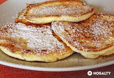 Túrós palacsintácskák Sin Gluten, Sweets Recipes, Cooking Recipes, Waffles, Pancakes, Oreo Cupcakes, Polish Recipes, Polish Food, Hungarian Recipes