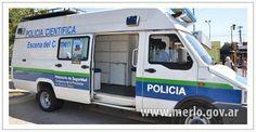 Iveco Daily . Policía científica de la Provincia de Buenos Aires ( Partido de Merlo )