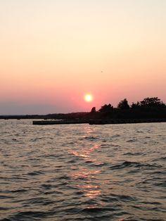 Sayville NY sunset