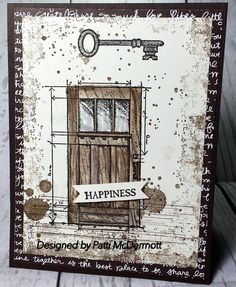 Key to Happiness by Patti McDermott - Cards and Paper Crafts at Splitcoaststampers