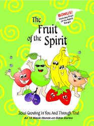 Fruit of the Spirit Bible Lesson & Game, Love, joy, peace, patience Sundays Child, Game Fruit, Bible Lessons For Kids, Gentleness, Fruit Of The Spirit, Church Crafts, Sunday School, Patience, Ministry
