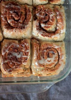 WANNA TRY!!!!  Gluten Free Cinnamon Rolls 2 cups rice flour  ¾ cup cornstarch or tapioca starch  1 teaspoon xanthan gum  1 teaspoon nutmeg  1 teaspoon cinnamon    Wet Ingredients:  ¼ cup (1/2 stick) butter, melted  2 tablespoons honey (melted with butter)  2 eggs