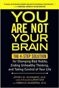 "For Long-Term Anxiety Reduction - You Are Not Your Brain by Jeffrey M. Schwartz and Rebecca GladdingIf you suffer from anxiety (hello, everyone) we strongly encourage you to pick up a copy of this book. Once you understand what ""deceptive brain messages"" are and how you can combat them by implementing a system of four simple steps, you will start to feel some semblance of control over your incessantly worried mind."