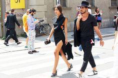 Milan Fashion Week Streetstyle || Spring 2015