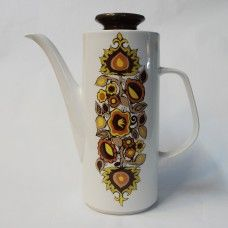 J&G #Meakin Studio Bali coffee pot, #AlanRogers 1968 retro. £30 including P&P from www.coco-collectables.co.uk